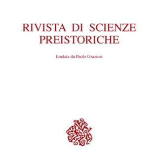 Rivista di Scienza Preistoriche I